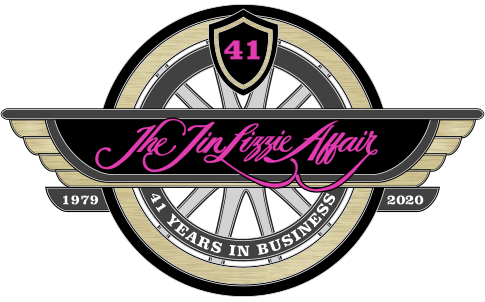 2019 is The Tin Lizzie Affair's 40th Year in Business!
